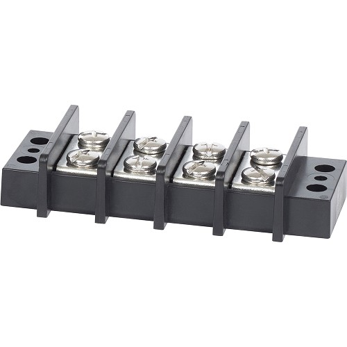 Blue Sea 2604 Terminal Block 65AMP - 4 Circuit