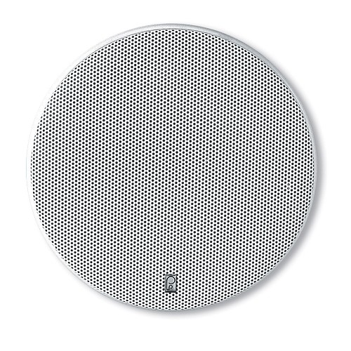 "Poly-Planar 8"" Platinum Round Marine Speaker - (Pair) White"